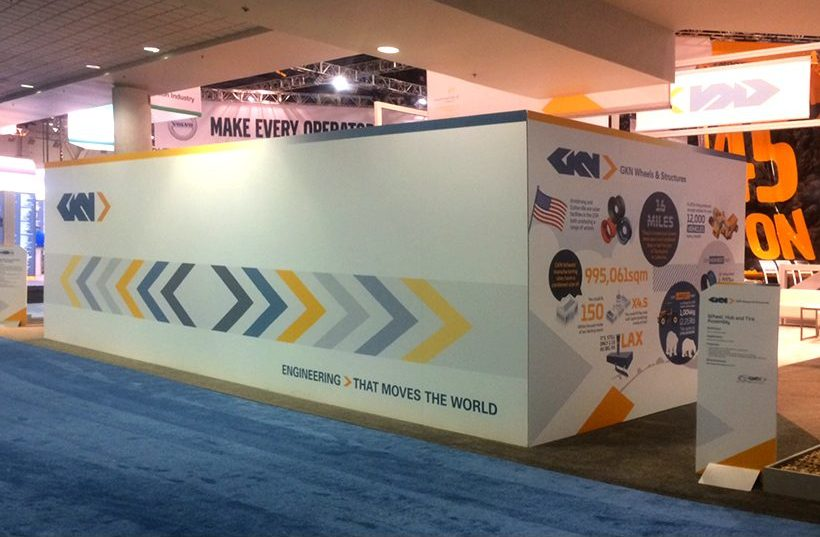 GKN stand graphics