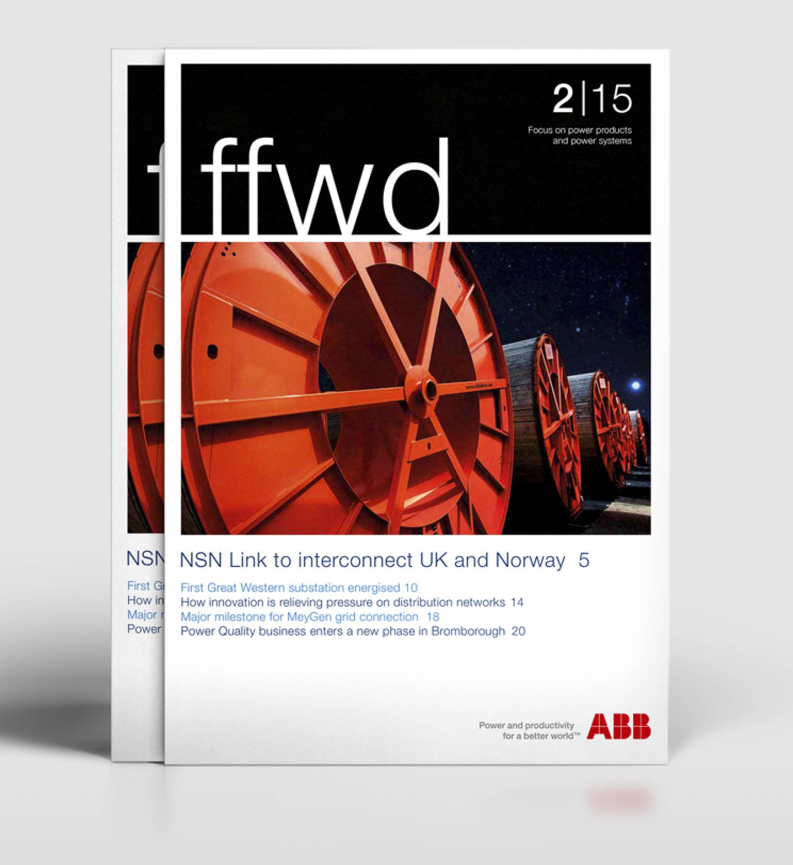ABB FFWD Customer Magazine
