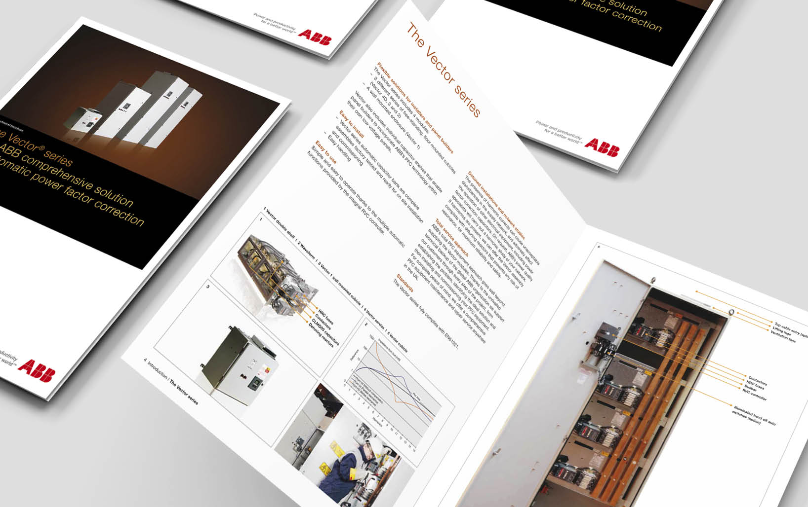 ABB Product Brochure Design