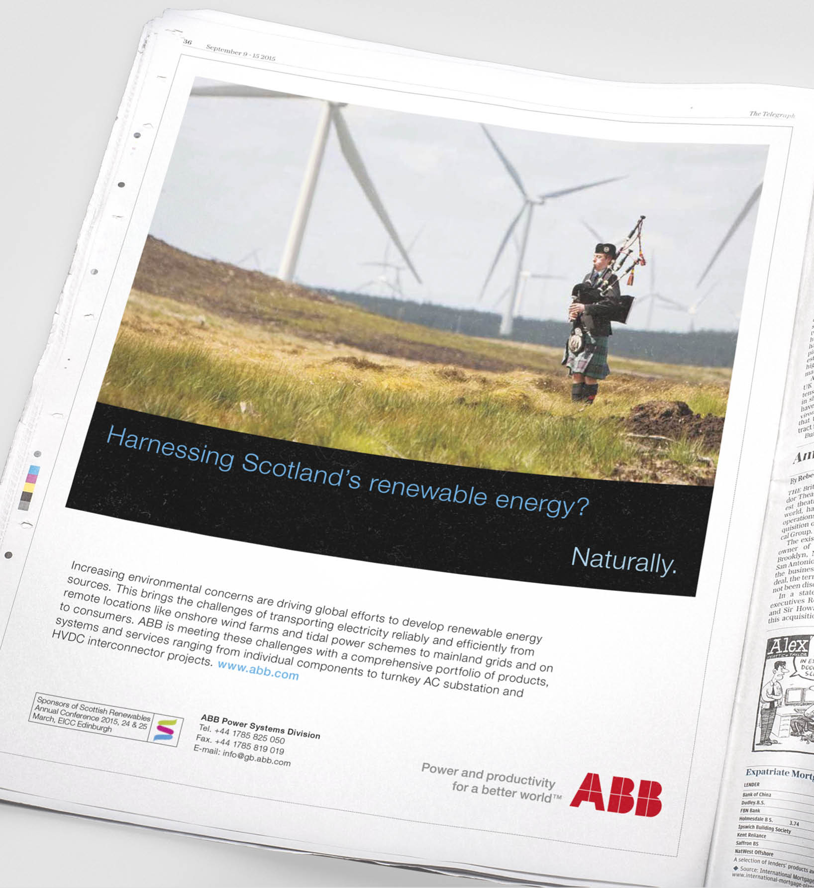 ABB Advert Design