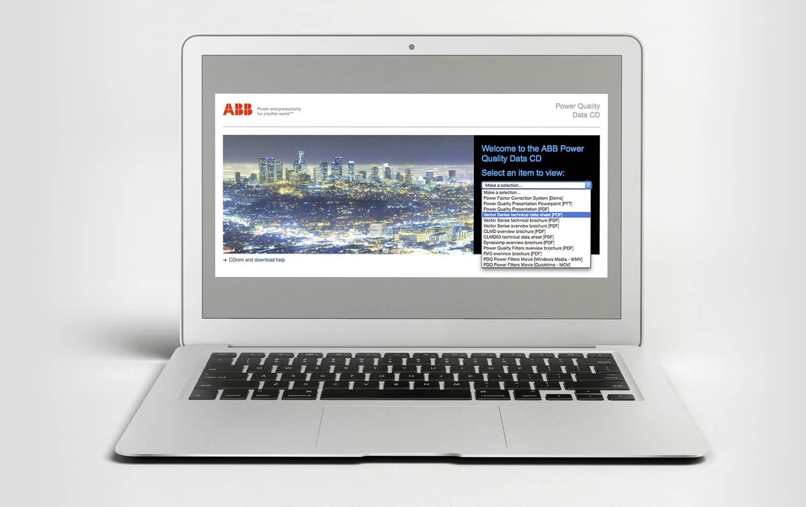 ABB CDrom Interface Design