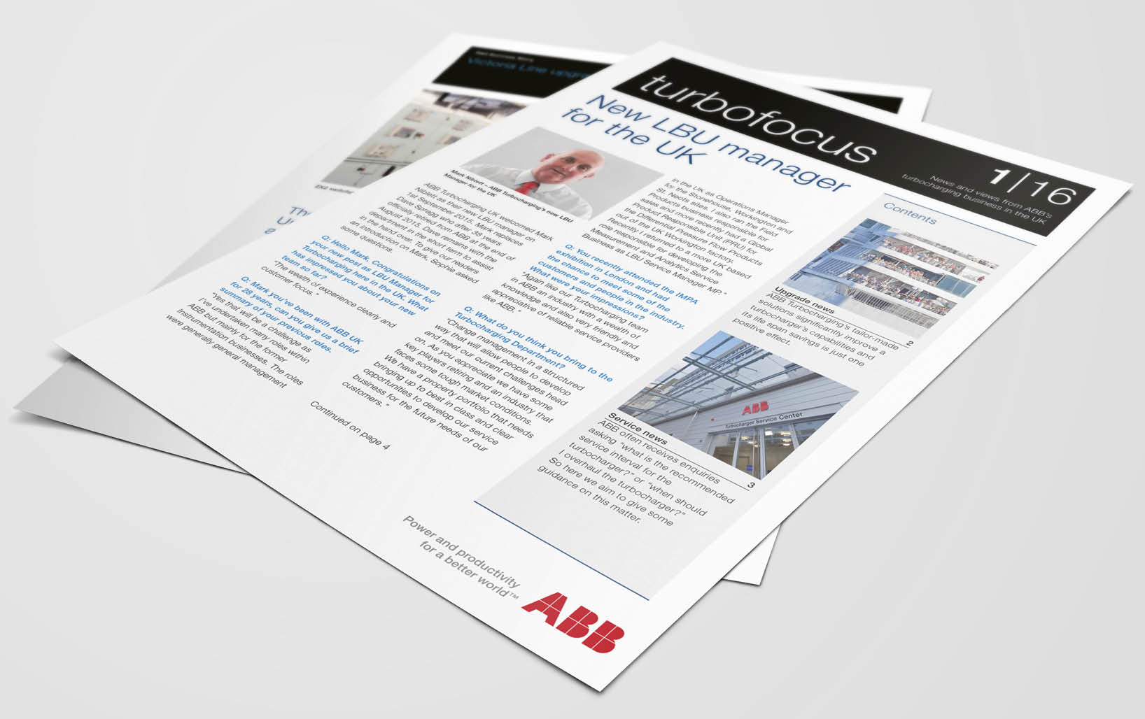 ABB Turbo Focus Customer Newsletter