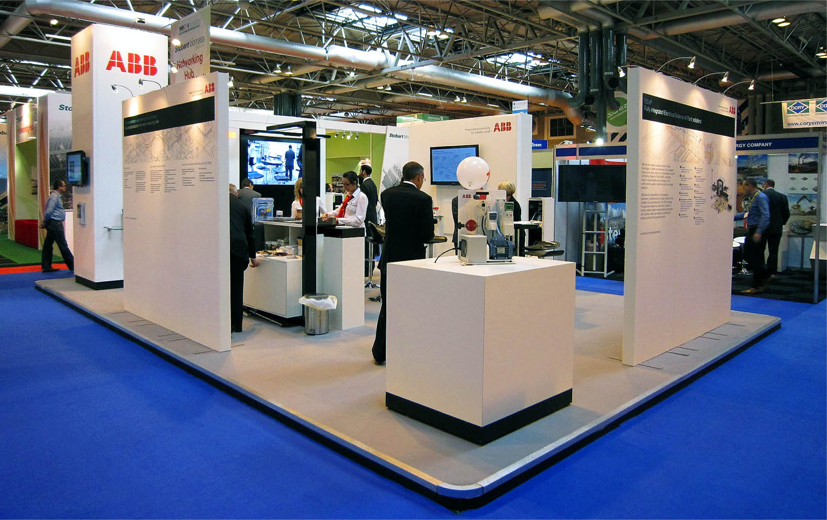 ABB Exhibition Stand Design