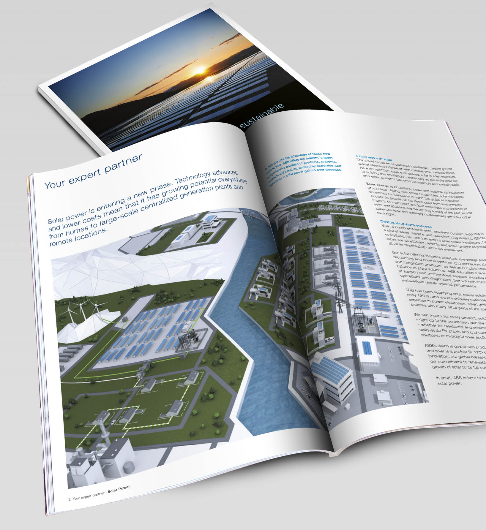 ABB Industry Brochure Design