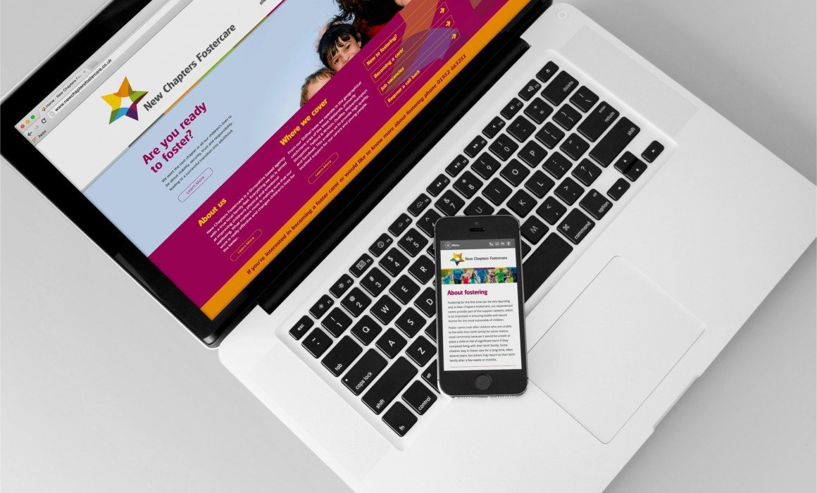 New Chapters Fostercare Website