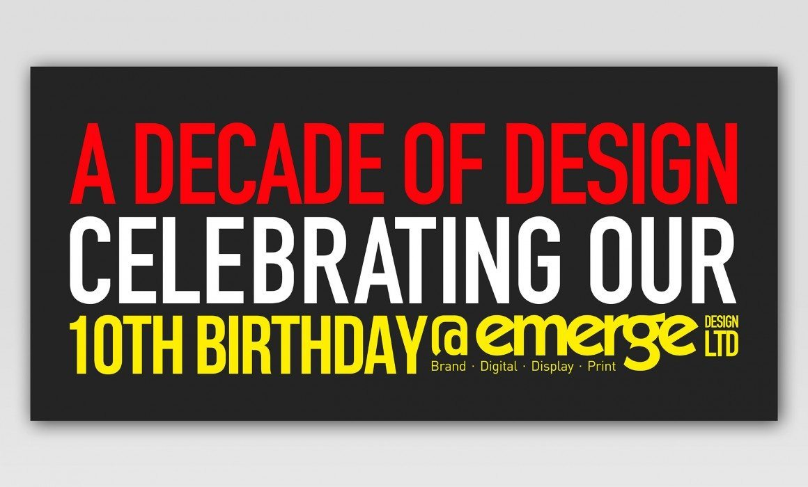 A decade of design