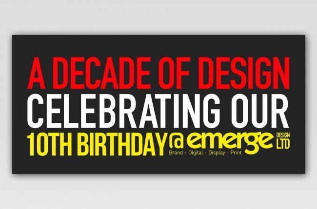 A decade of design