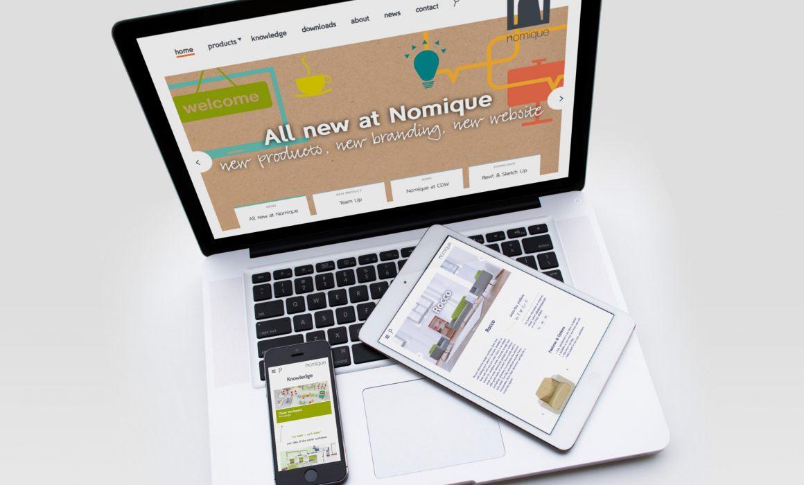 New Nomique website design