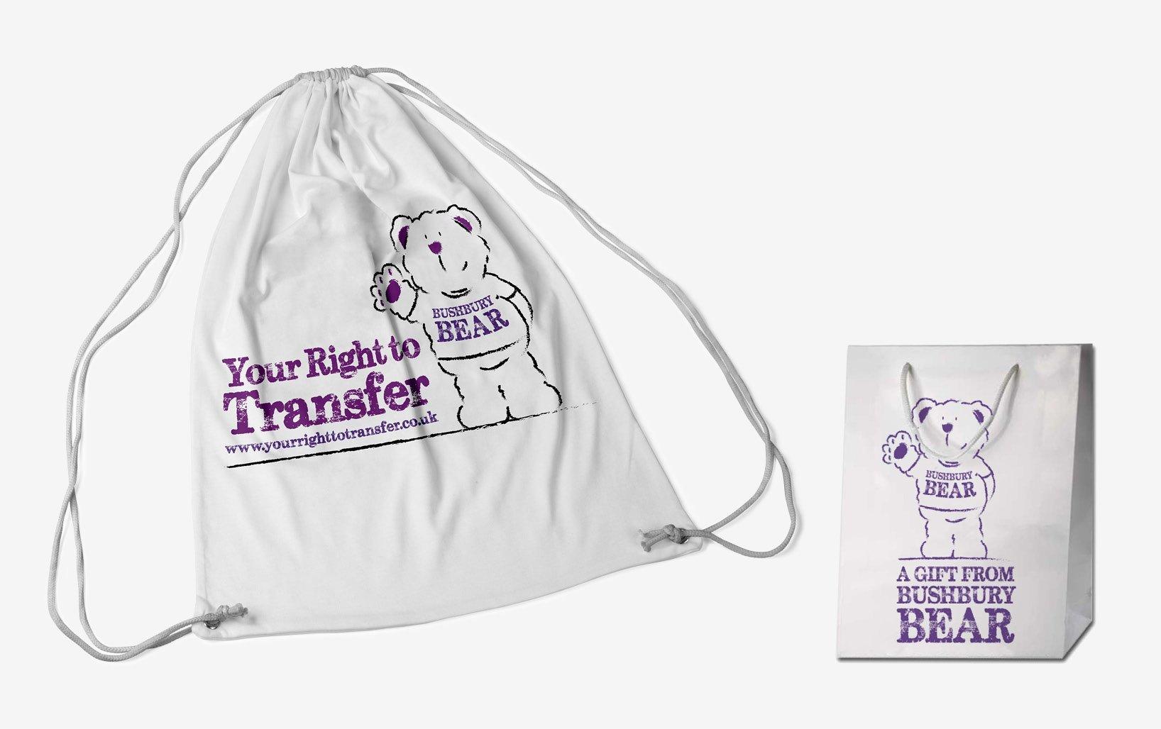 Bushbury promotional bag