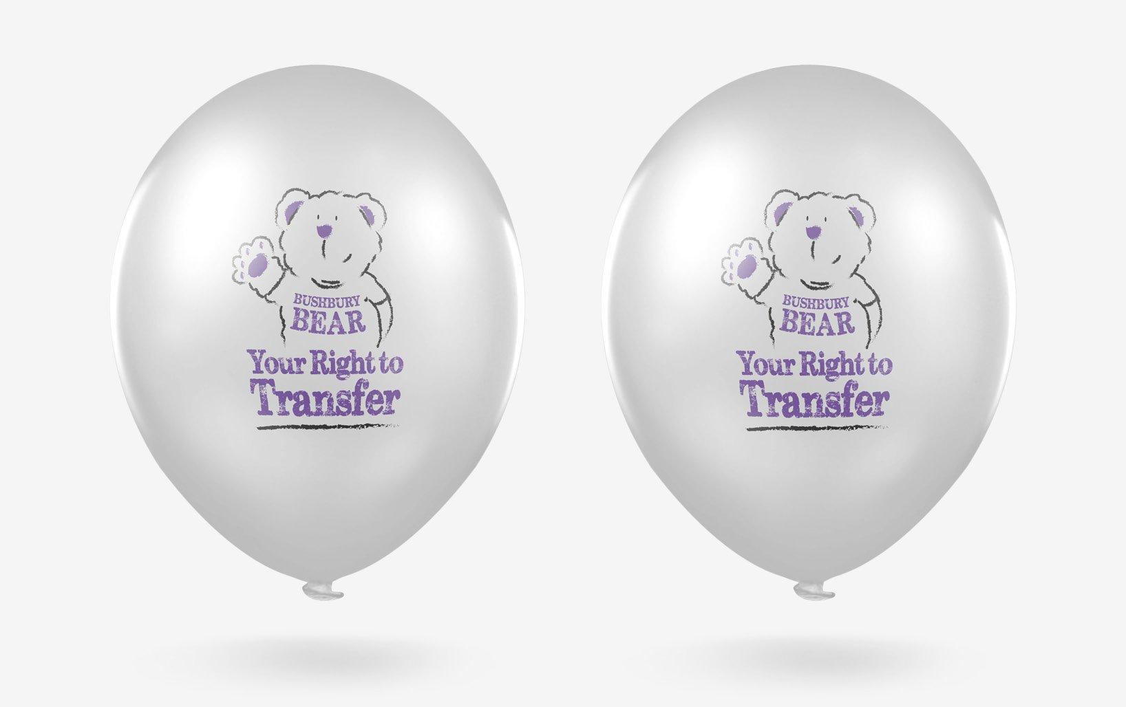 Bushbury promotional balloons