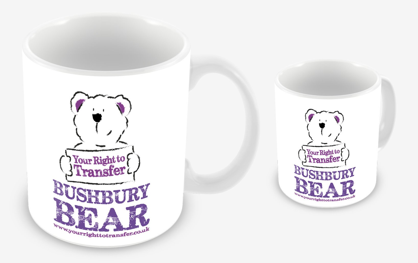 Bushbury promotional mugs