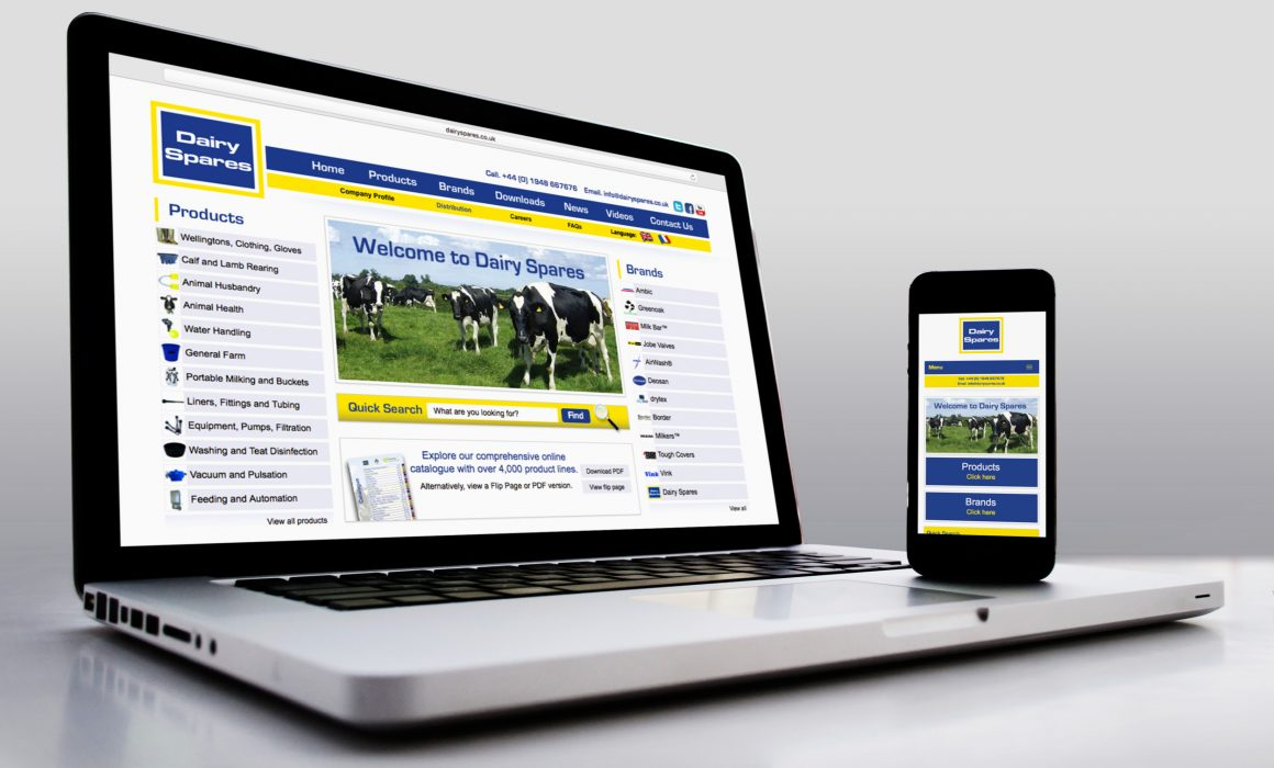 Dairy Spares Website