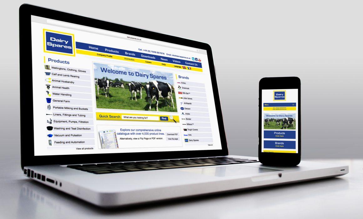 Dairy Spares Website