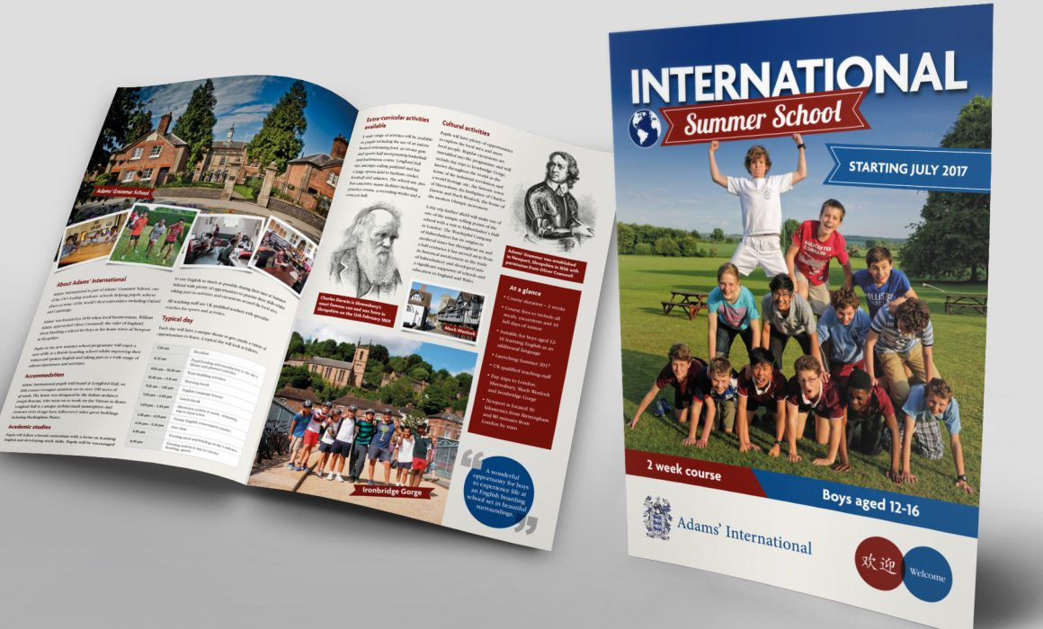 International School Booklet for Adam's Grammar
