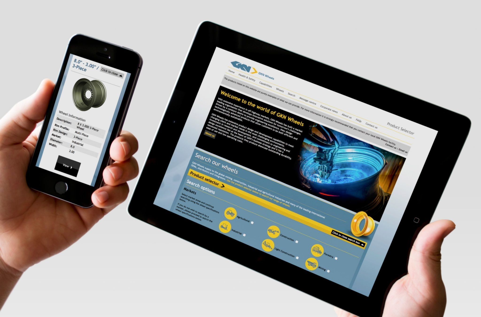 New online catalogue for GKN wheels