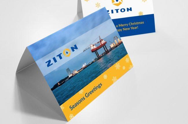Ziton Christmas Cards