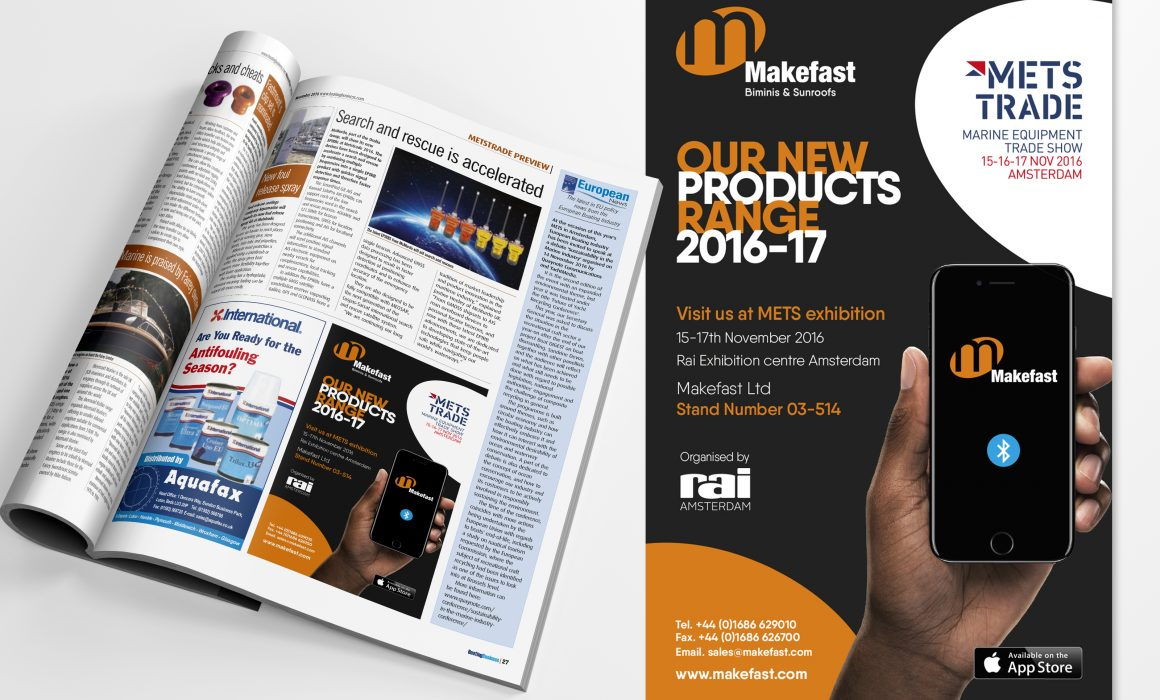 Makefast Advert Design