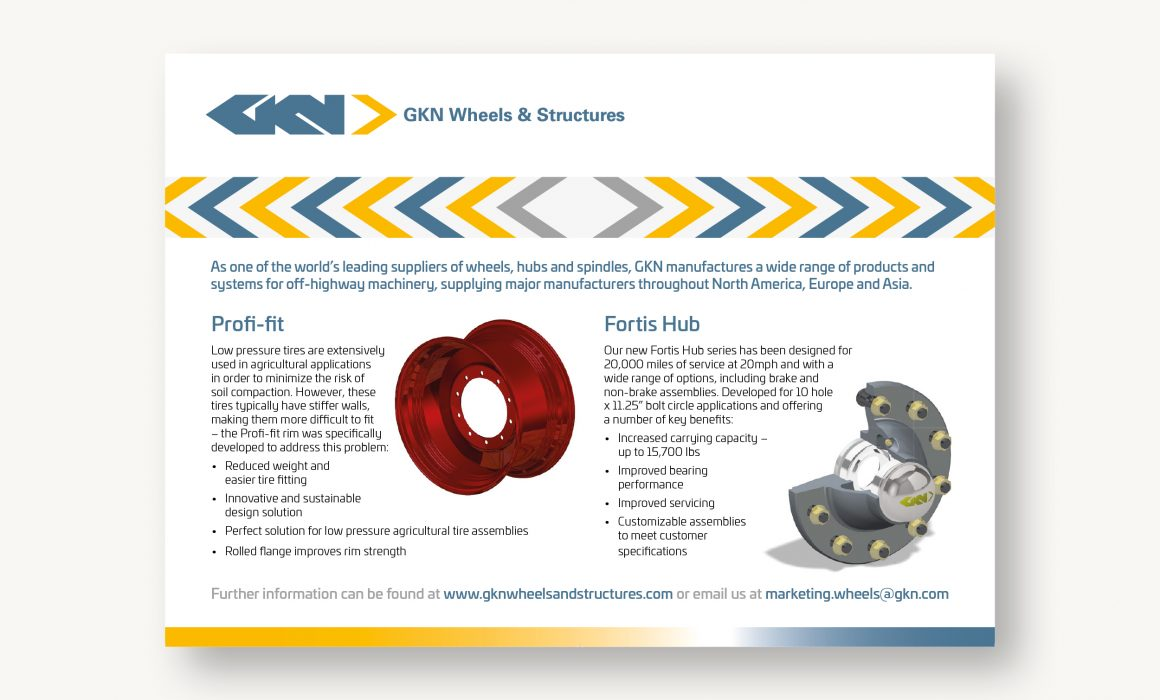 GKN USA Magazine advert