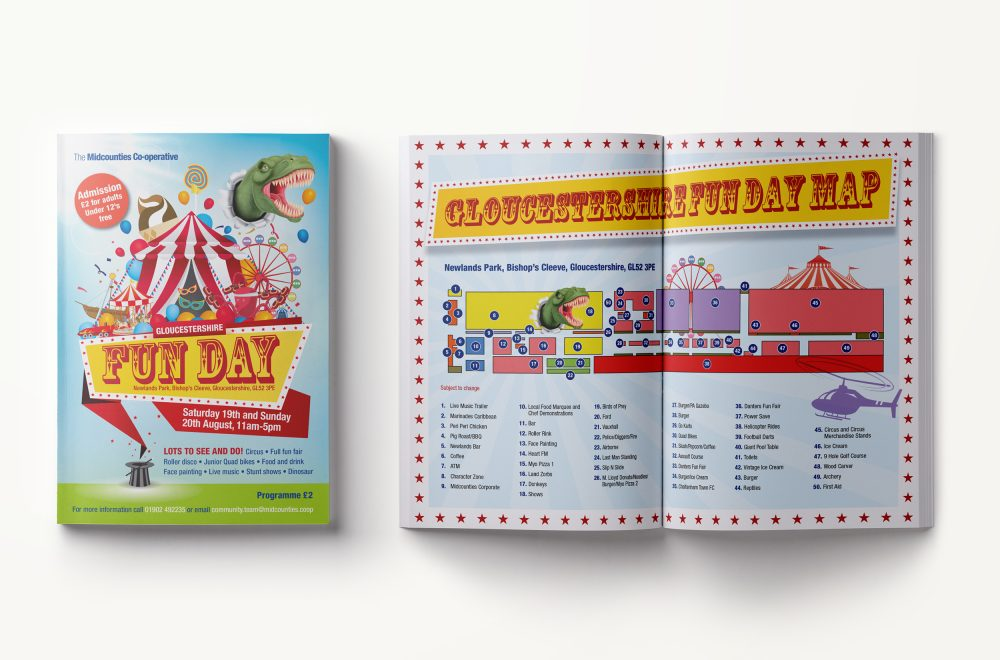 Gloucestershire Fun Day 2017 programme