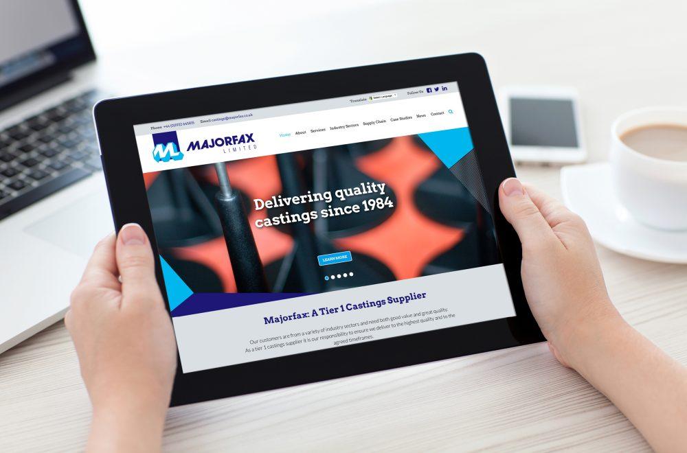 Majorfax Website
