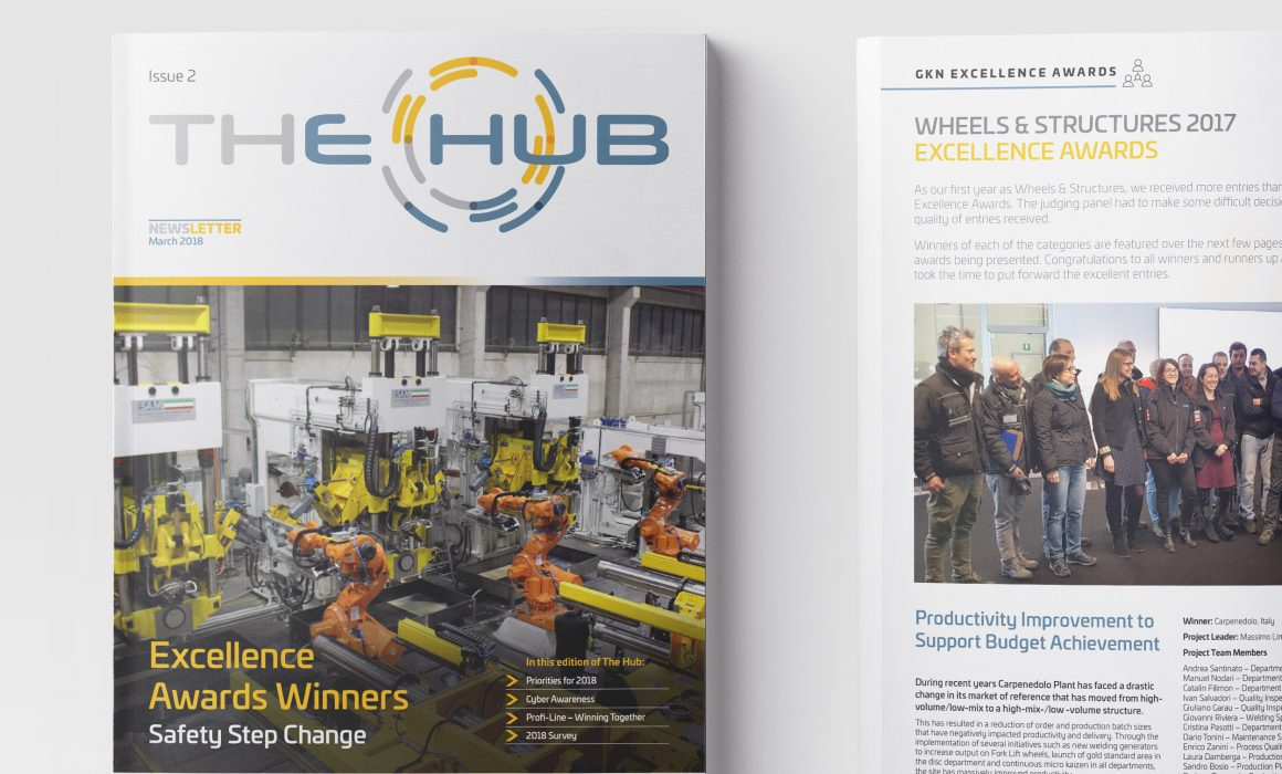 GKN Wheels 'The Hub' Newsletter