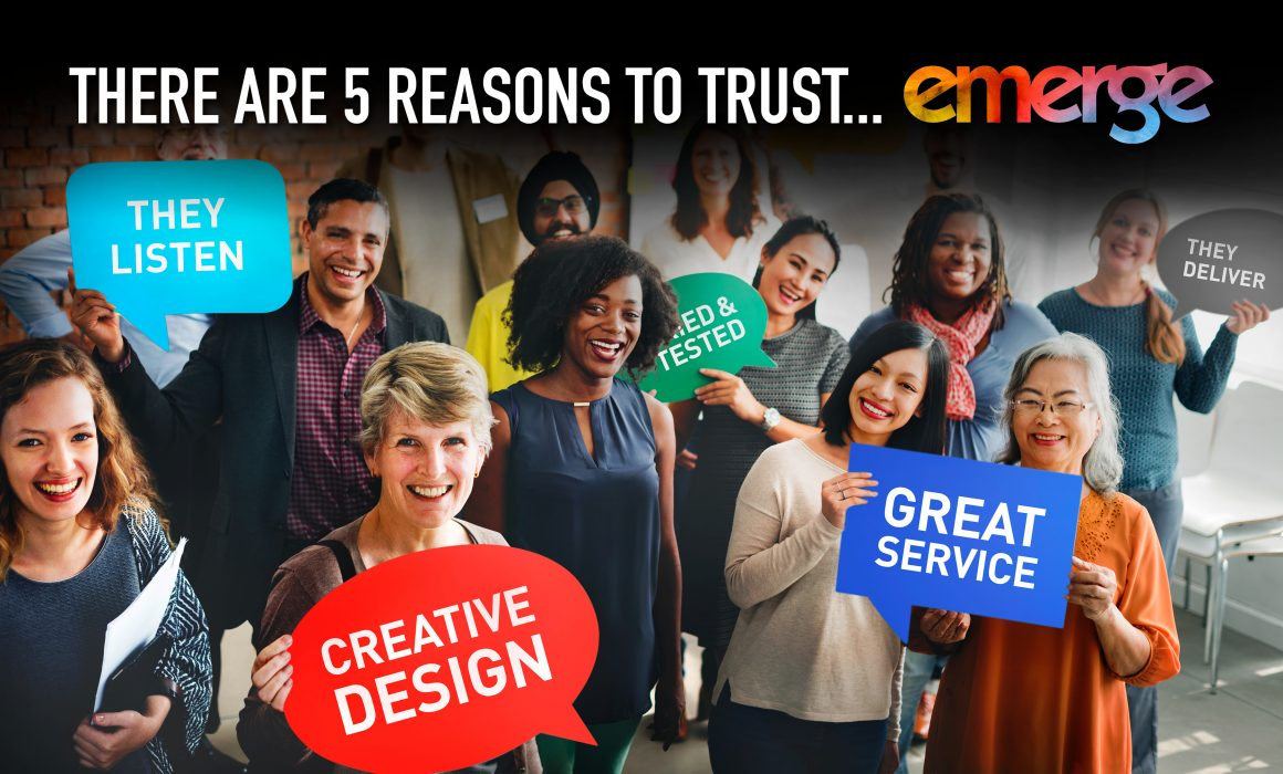 Reasons to trust emerge