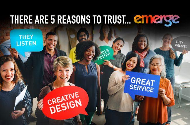 Reasons to trust emerge