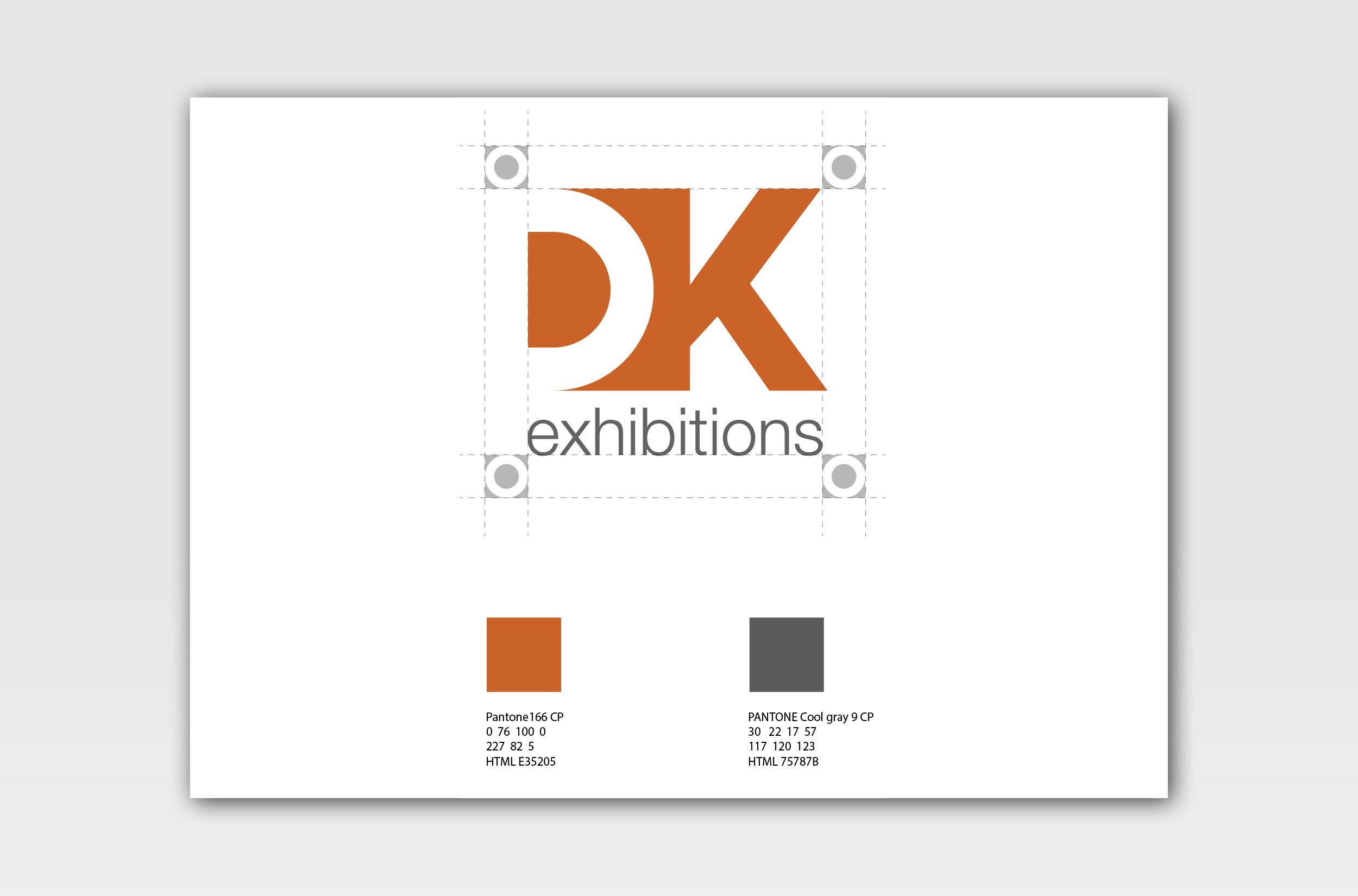 DK exhibitions logo guidelines