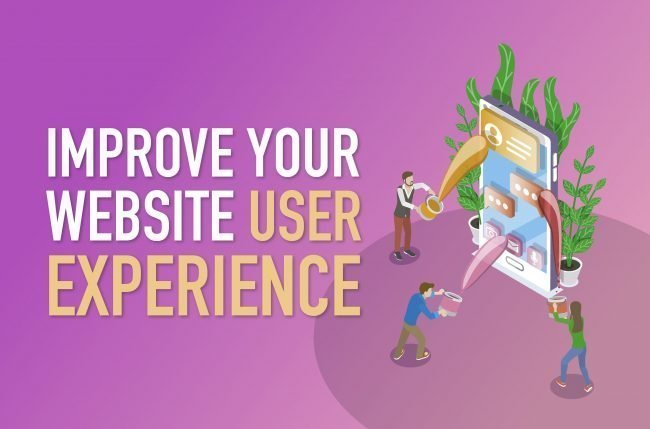Website user experience