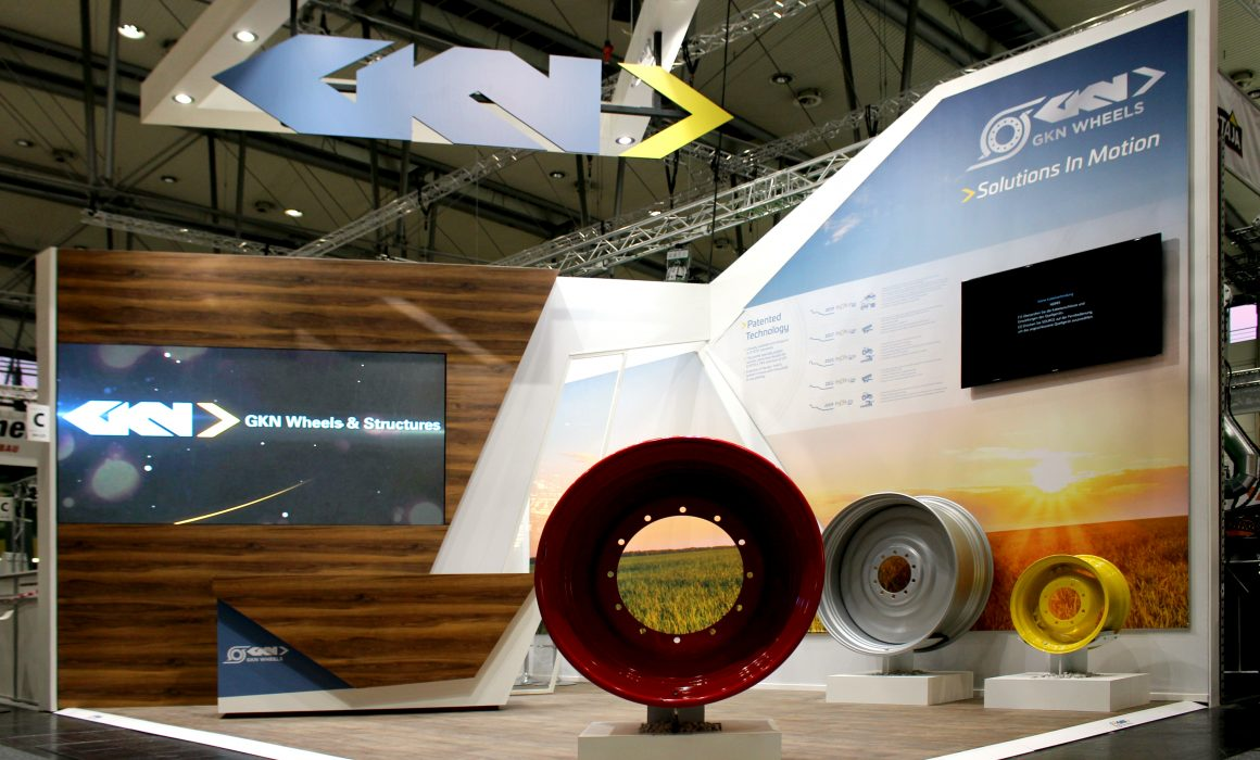 GKN Wheels Agritechnica 2019 Stand